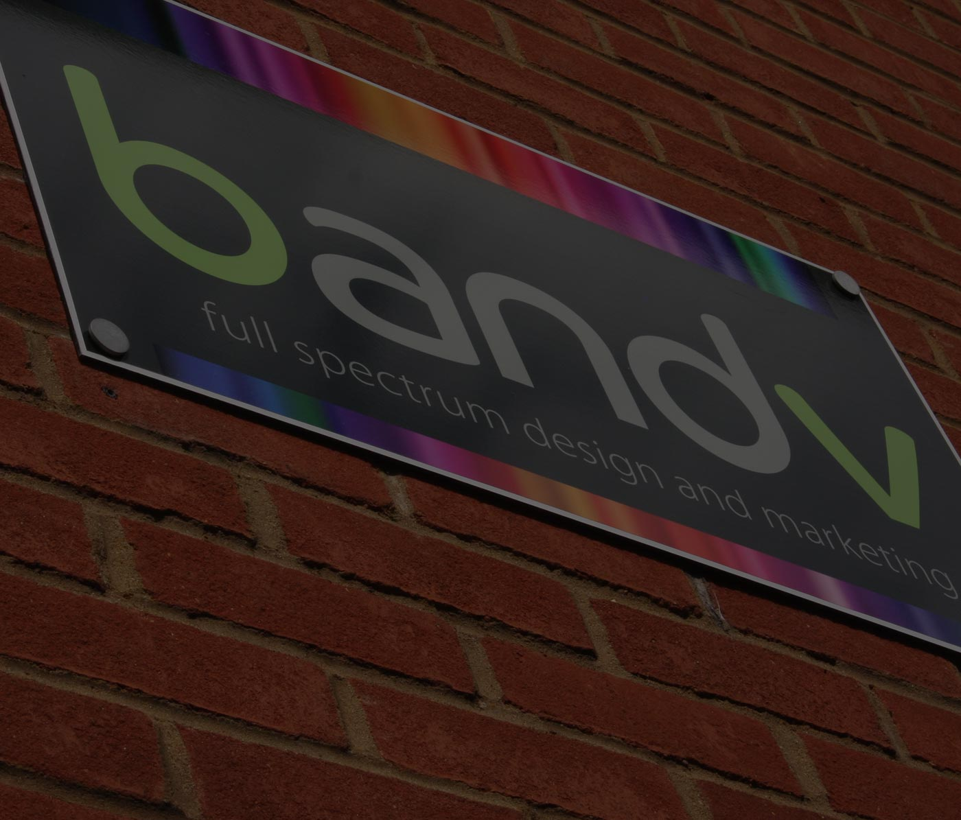 bandv - Full spectrum design and marketing agency