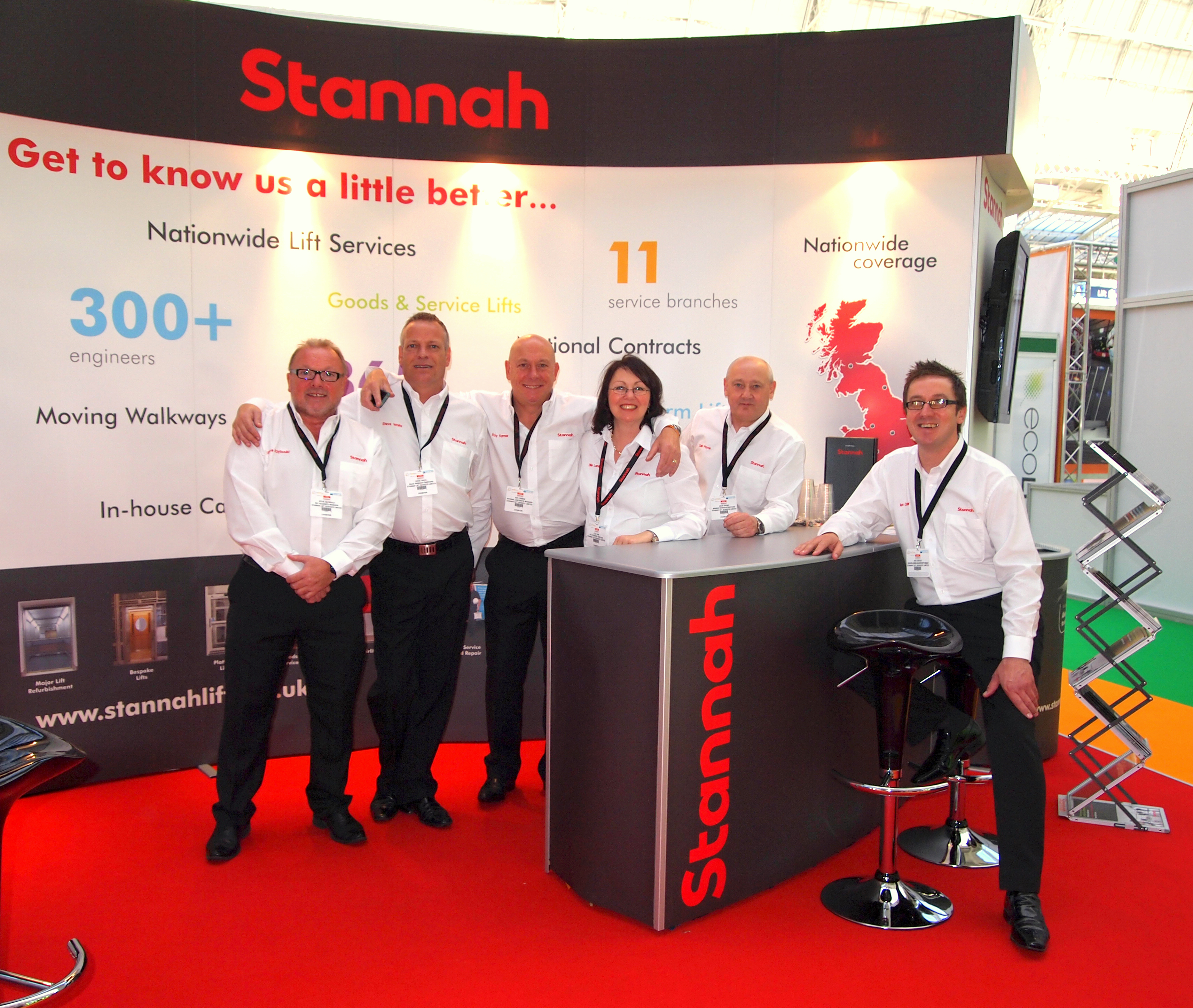 Stannah Lift Services at the Facilities Show 2014