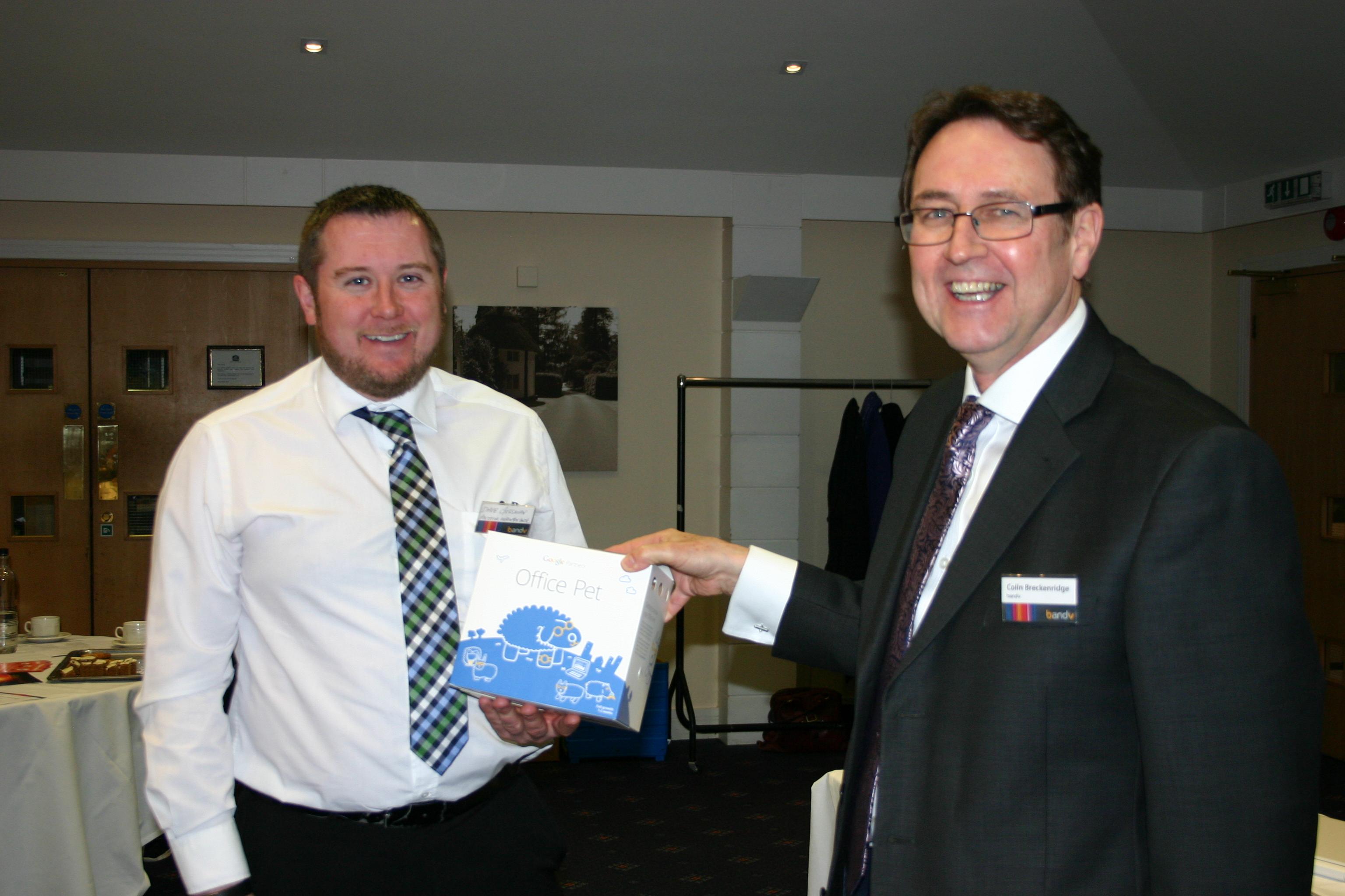 Grow Local Prize Winner Dave Gussman