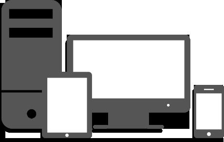 Responsive websites logo - bandv web design agency