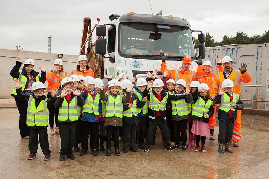 Nursling Recycling Centre School Trip.jpg