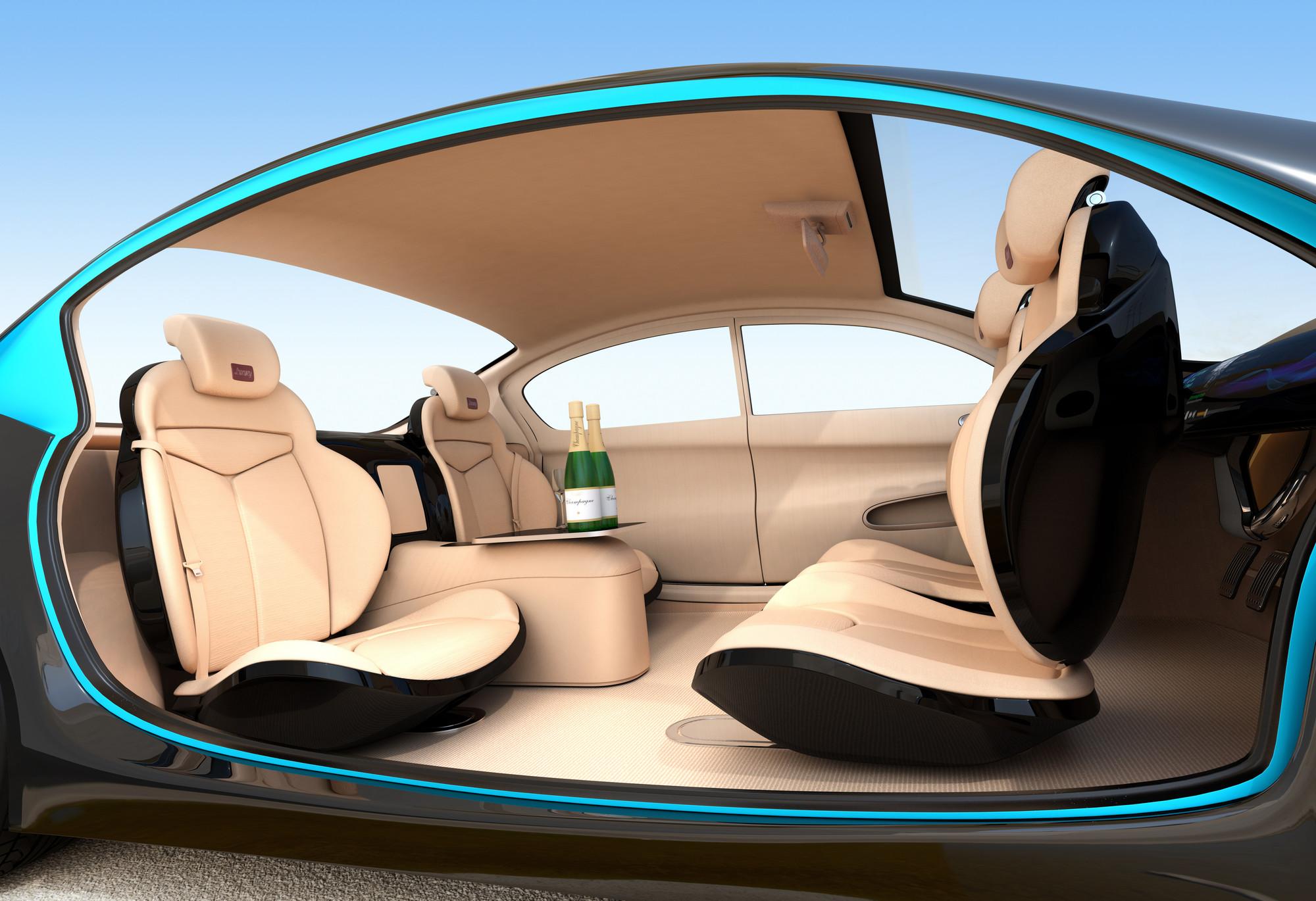 Self-drive car